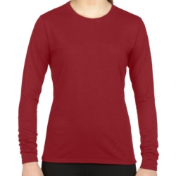 42400L Gildan Performance®  Ladies' Long Sleeve T-Shirt